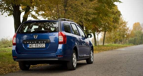 Dacia Logan MCV tył
