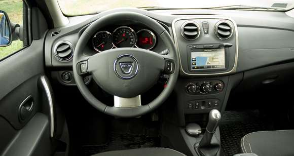 Dacia Logan MCV wnętrze
