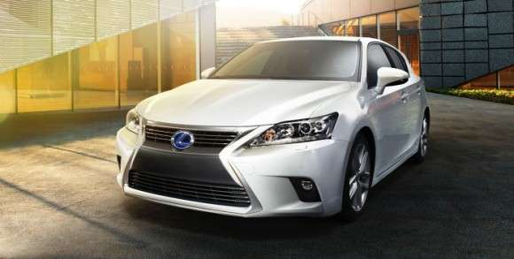 Lexus CT200h 2014 facelift
