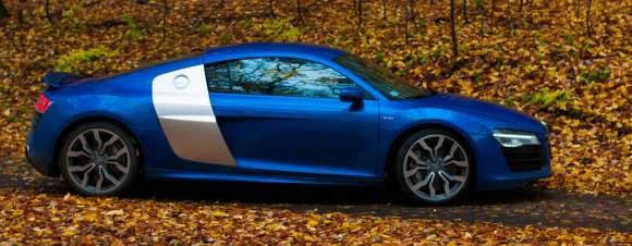 Audi R8 V10 bok