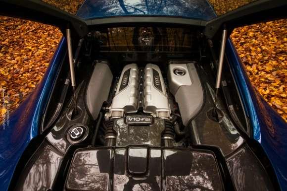 Audi R8 V10 silnik