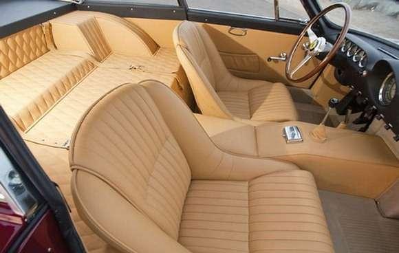 1963 Ferrari 250 GTL Lusso interior