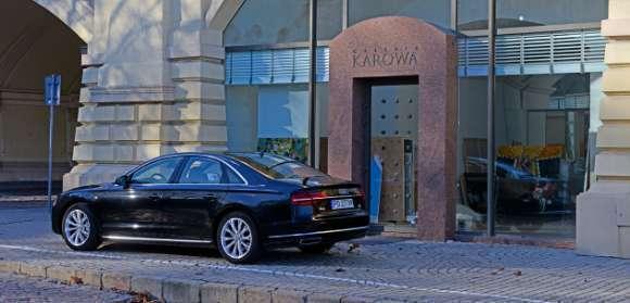 Audi A8 2014 reaer tył