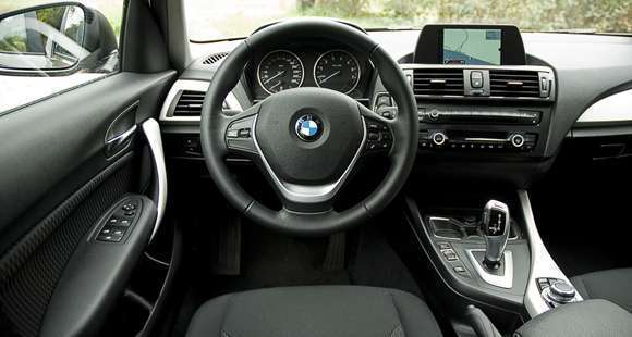 BMW 1-series interior