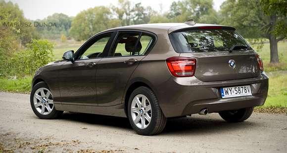 Nowe BMW serii 1 F20 - tył