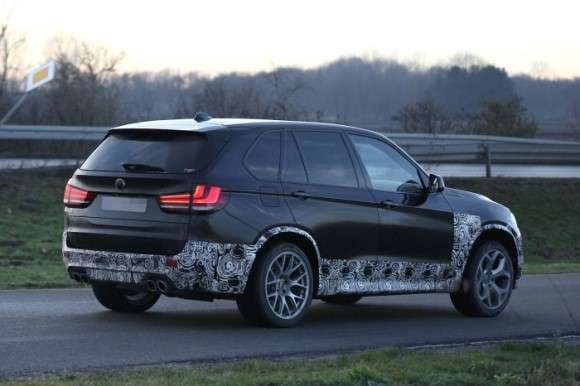 BMW X5M spy shots