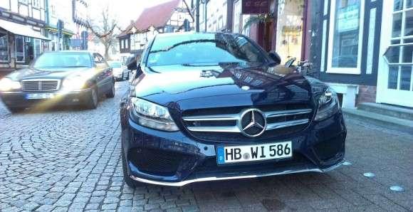 Mercedes klasy C 2014 na żywo