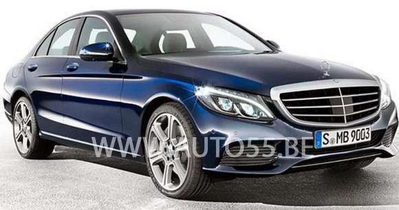 Mercedes klasy C 2014 leaked