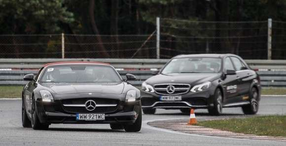 Mercedes SLS AMG Tor Poznań