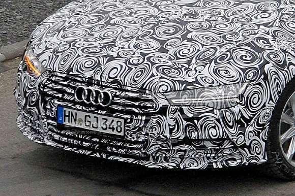 Audi A7 2015 spy
