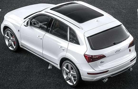 Audi Q5 tuning Kahn Design - tył