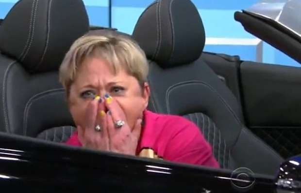 Kobieta wygrywa Audi R8