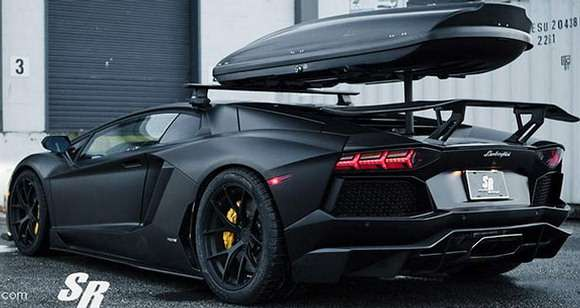 Lamborghini Aventador tuning winter