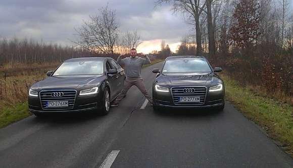 Audi A8 Jean-Claude Van Damme