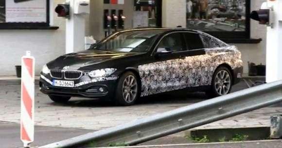 BMW serii 4 Gran Coupe - szpiegowskie