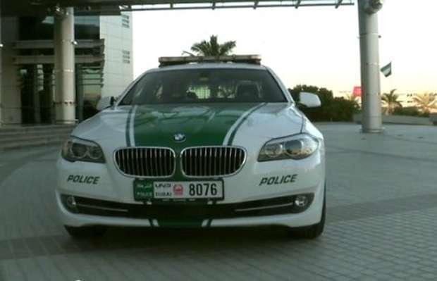 BMW 5 Police