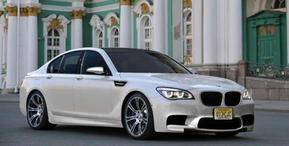 BMW M7 rendering