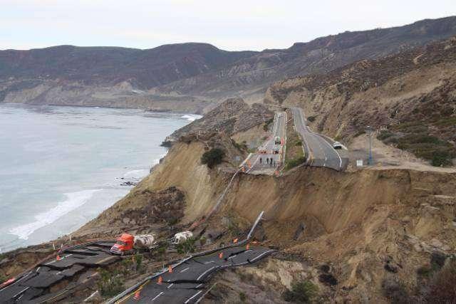 Trzęsienie ziemi niszczy autostradę