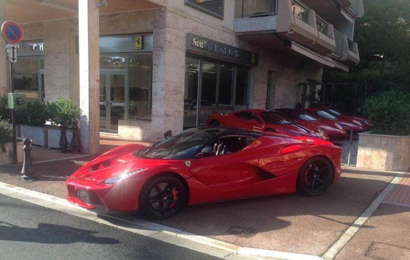 Ferrari LaFerrari in Monaco