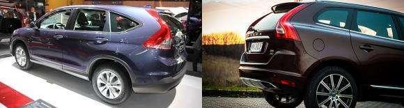 Honda CR-V i Volvo XC60