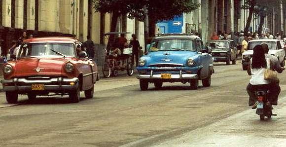 Kuba - ulice