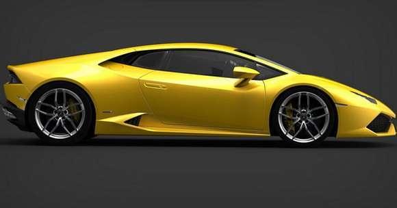 Lamborghini Huracan bok