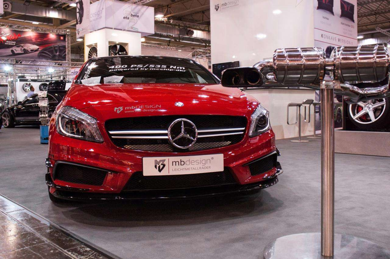 Mercedes A45 AMG mcchip-dkr