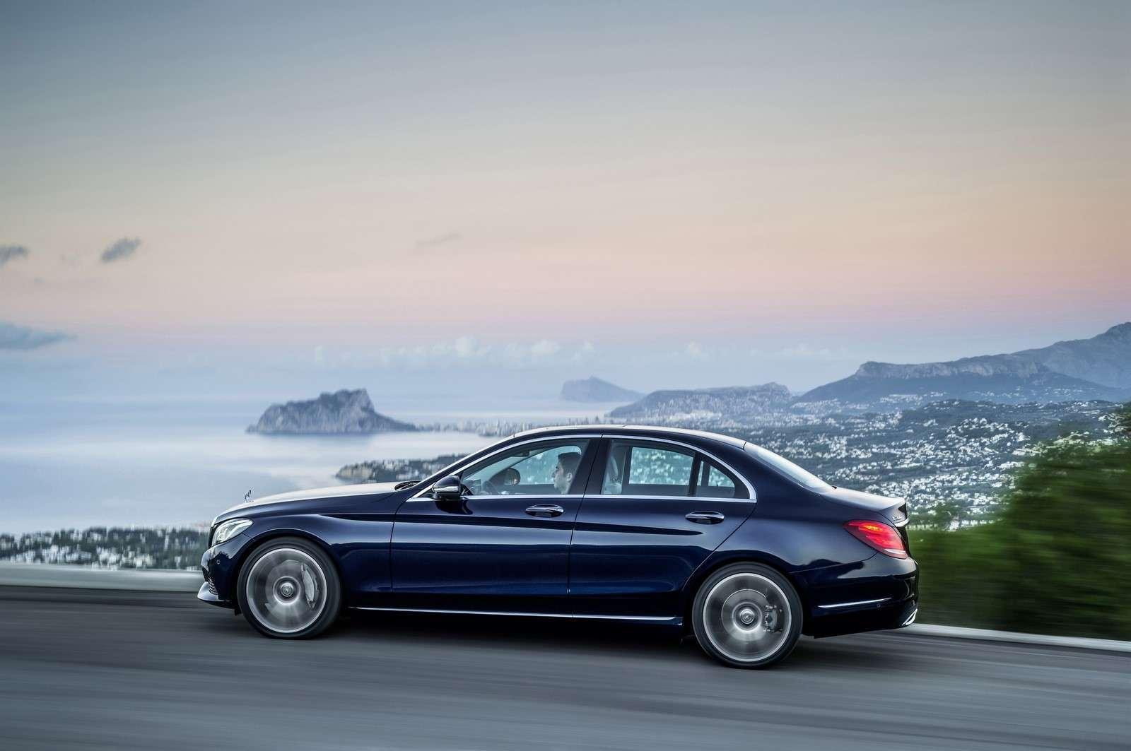 Mercedes-Benz C 300 BlueTEC HYBRID, Exclusive Line, Cavansitblau metallic, Leder ARTICOKristallgrau/Tiefseeblau, Zierelemente Holz Linde linestructure, (W205),2013
