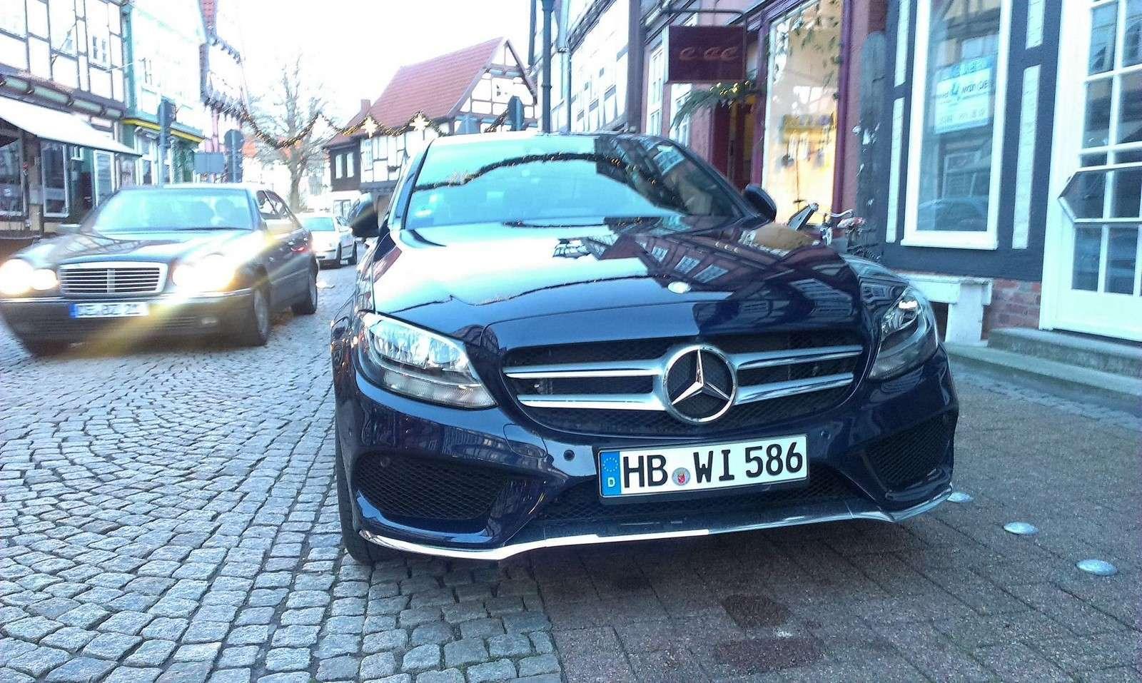 Mercedes-Benz C-Class 2014 live photos