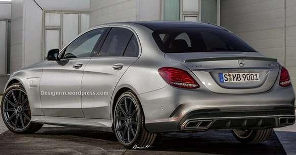 Nowy Mercedes C63 AMG - rendering