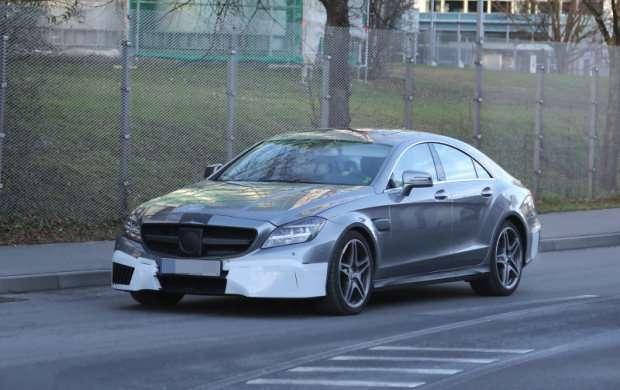 Mercedes CLS63 AMG spy 2015