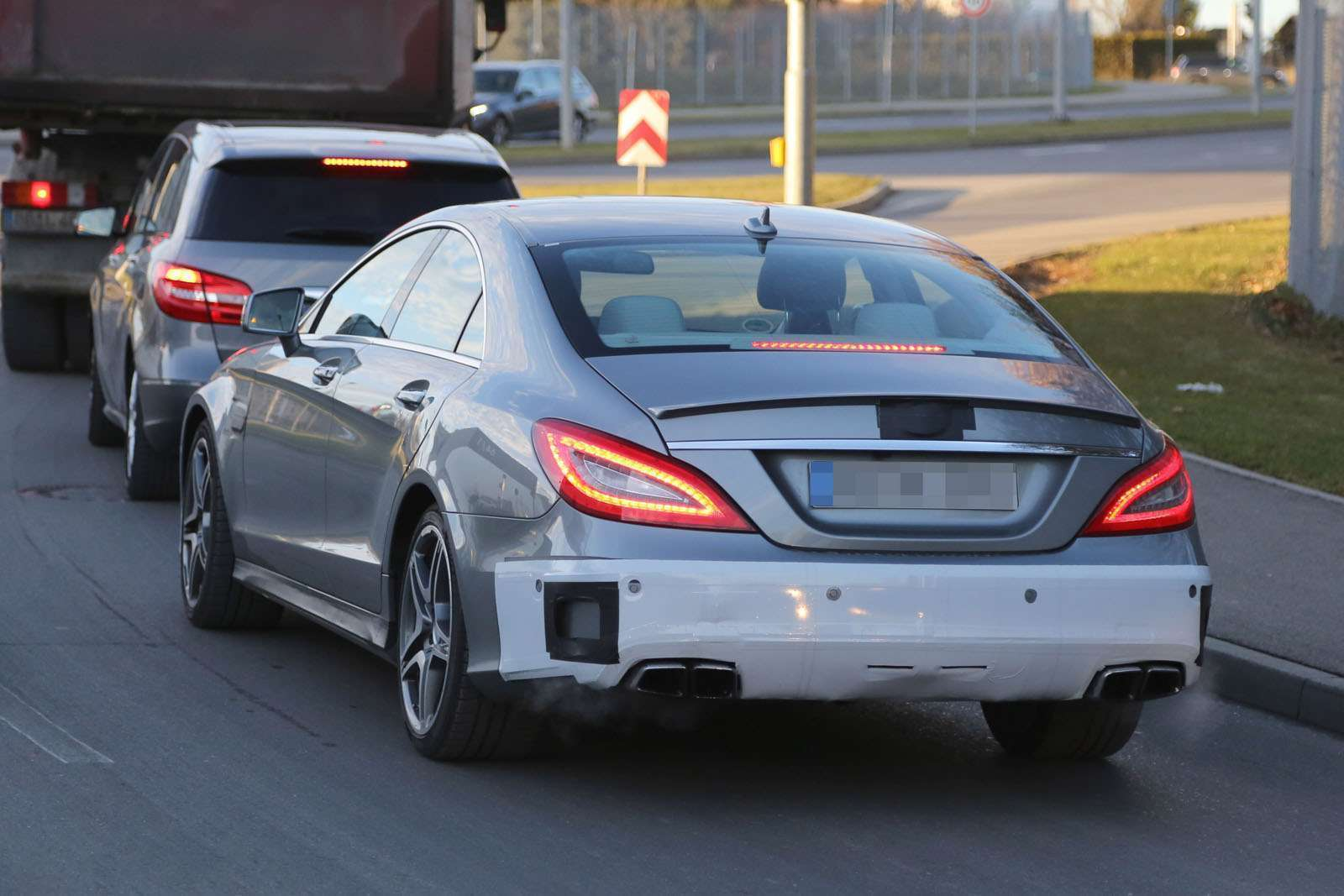 Mercedes CLS 63 AMG 2015 Spy Photos