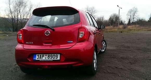 Nissan Micra 2013 tył