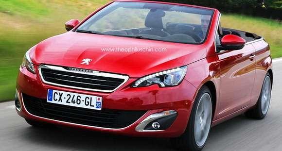 Peugeot 308 CC Rendering