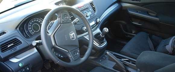 Wnętrze Hondy CR-V 2012