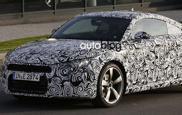 Audi TT 2014 szpieg