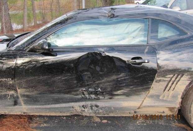 Camaro ZL1 crash