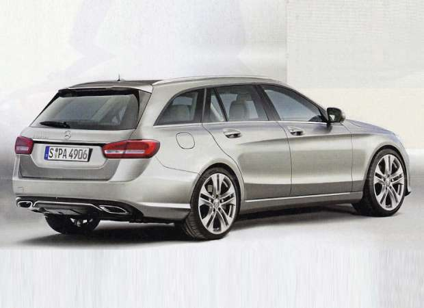 Mercedes-Benz klasy C Estate 2015