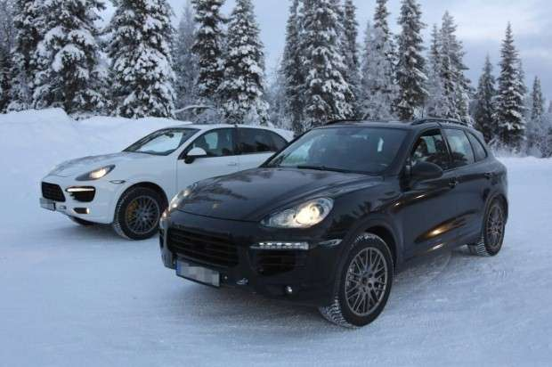 Porsche Cayenne 2015 facelift spy