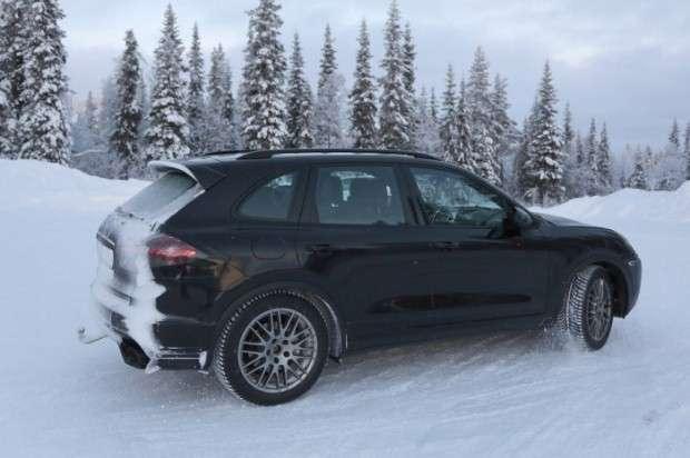 Porsche Cayenne 2015 facelift szpiegowskie