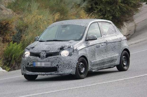 Renault Twingo 2015 spy