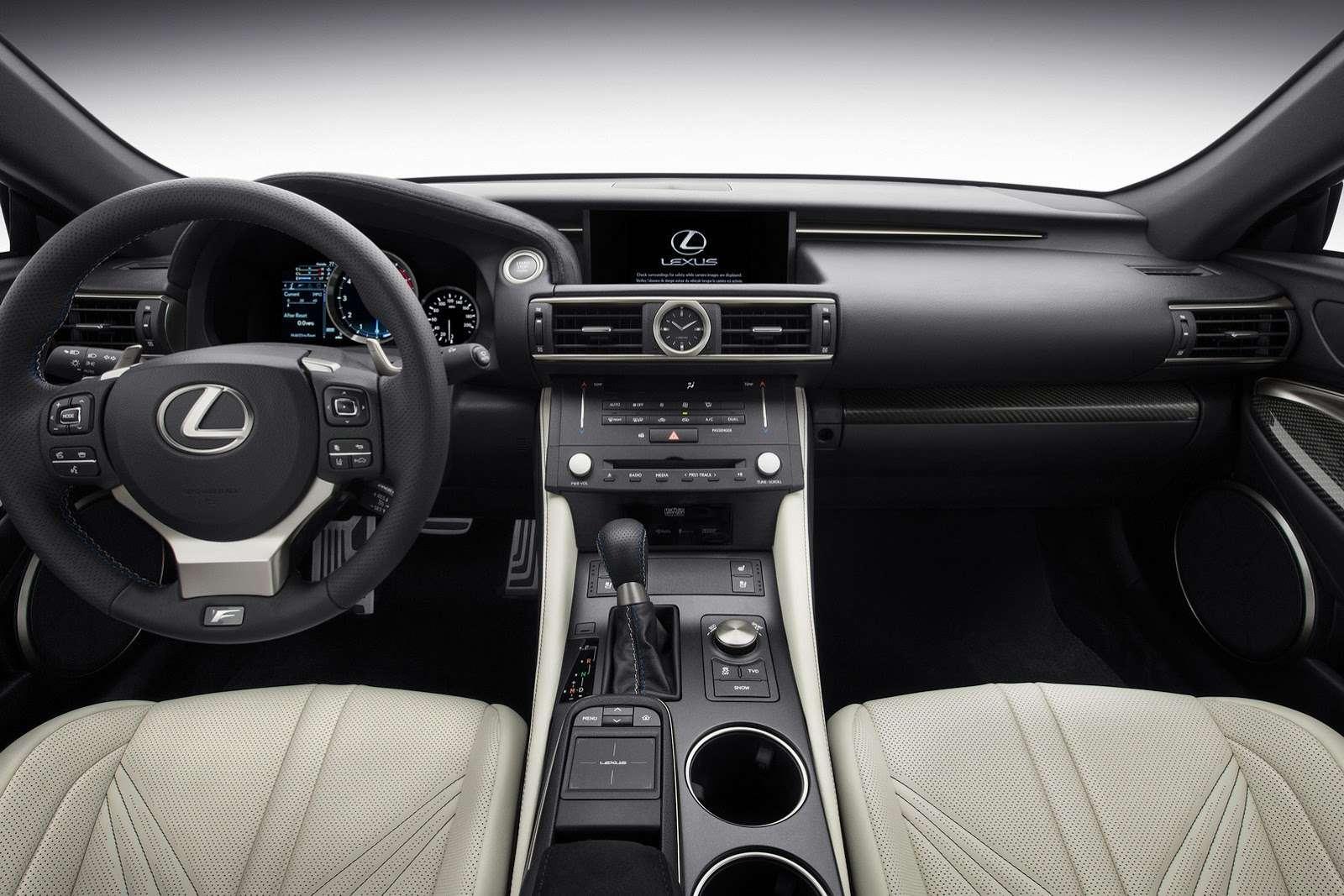 Lexus RC F 2015 interior