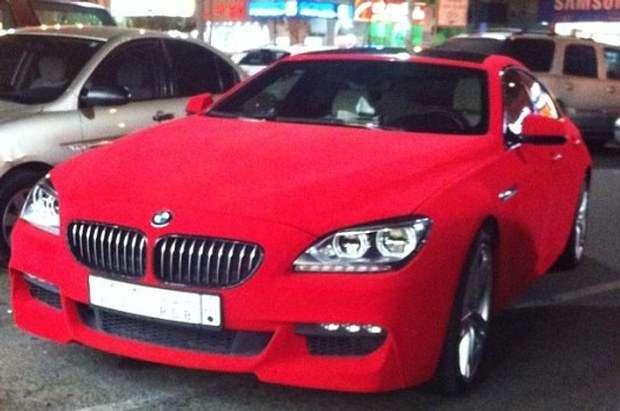 BMW 6 Gran Coupe aksamit