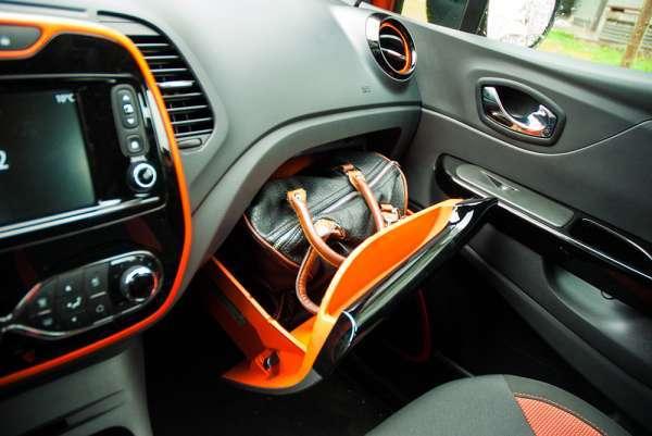 Renault Captur 1.2 TCe - szuflada