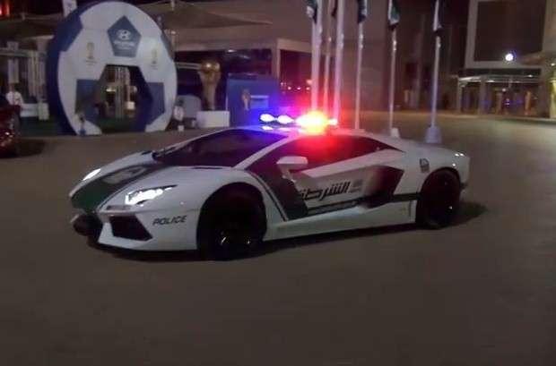 Aventador Dubai Police