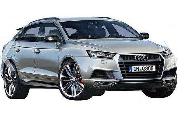 Audi Q8 rendering