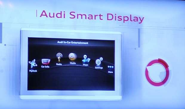 Audi Smart Display