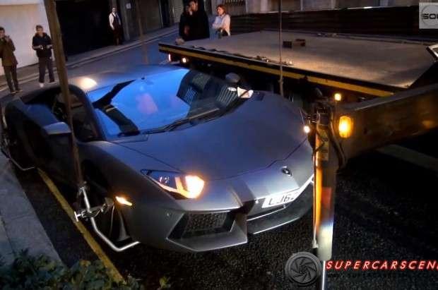 Lamborghini Aventador laweta