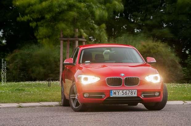 BMW 118d reflektory