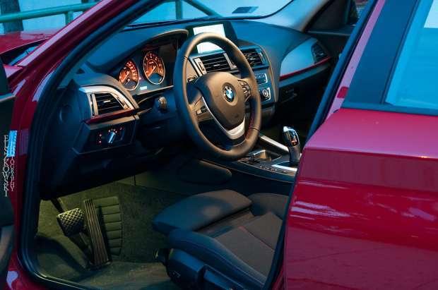 BMW serii 1 interior
